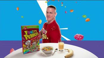 Fruity Pebbles TV Spot Featuring John Cena - Thumbnail 8