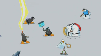 Disney Club Penguin TV Spot, 'Card-Jitsu Snow' - Thumbnail 7
