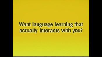 Rosetta Stone TV Spot, 'Foreign Language Tape Announcer' - Thumbnail 9