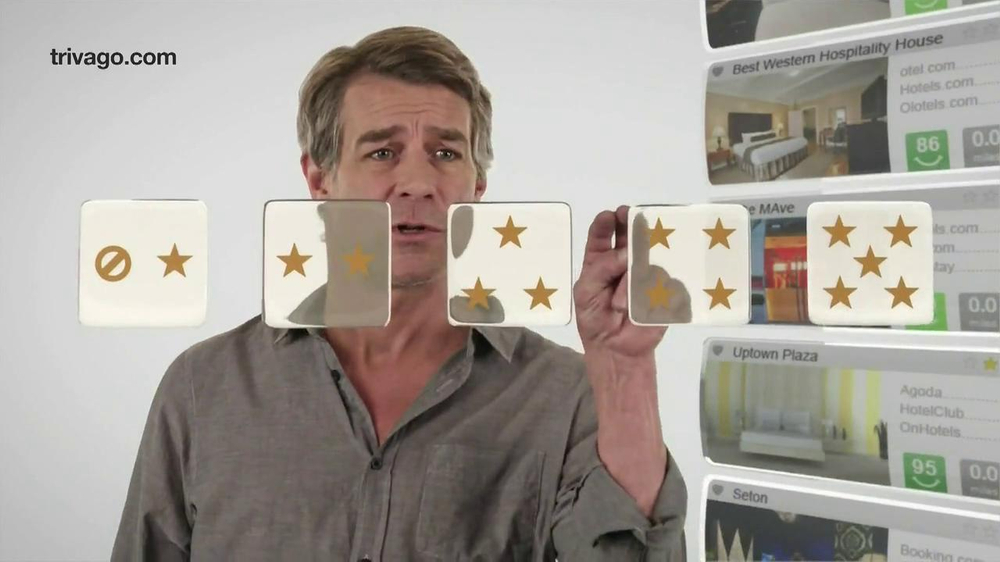 trivago TV Commercial, 'Compares Prices'