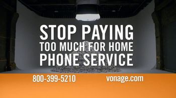 Vonage TV Spot, 'Mountain of Bills' - 574 commercial airings