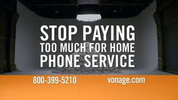 Vonage TV Spot, \'Mountain of Bills\'
