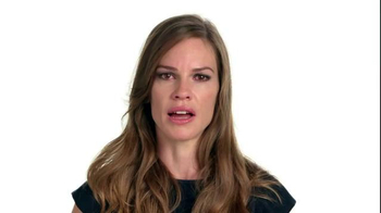 The NO MORE Project TV Spot, 'Speechless: Hilary Swank' - Thumbnail 1