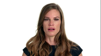 The NO MORE Project TV Spot, 'Speechless: Hilary Swank' - Thumbnail 2