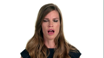The NO MORE Project TV Spot, 'Speechless: Hilary Swank' - Thumbnail 7