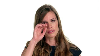 The NO MORE Project TV Spot, 'Speechless: Hilary Swank'