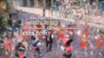 Disney Parks & Resorts TV Spot, 'ESPN Disney Cheer' Featuring Lee Corso - Thumbnail 10