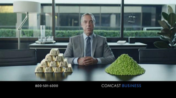 Comcast Business TV Spot, 'A Gold-Plated Soybean' - 846 commercial airings