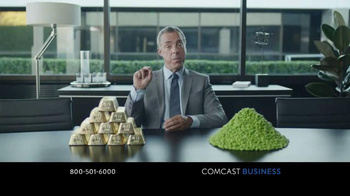 Comcast Business TV Spot, 'A Gold-Plated Soybean' - Thumbnail 6