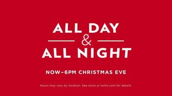 Kohl's TV Spot, 'Christmas Eve' - Thumbnail 6