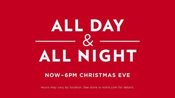 Kohl's TV Spot, 'Christmas Eve' - Thumbnail 7