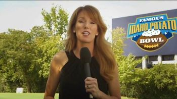 Idaho Potato TV Spot, 'Famous Idaho Potato Bowl' Featuring Heather Cox