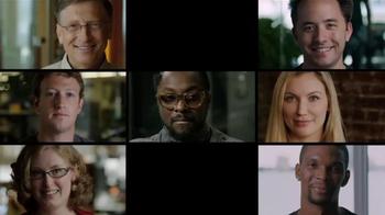 Code.org TV Spot, 'Anybody Can Learn' Feat. Will.i.am and Mark Zuckerberg - Thumbnail 10