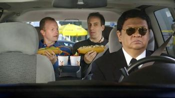 Sonic Drive-In Footlong Hot Dogs TV Spot, 'Limo Style' - 4653 commercial airings
