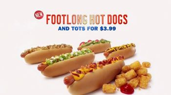 Sonic Drive-In Footlong Hot Dogs TV Spot, 'Limo Style' - Thumbnail 9