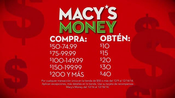 Macy's Money TV Spot, 'Money' [Spanish] - Thumbnail 4