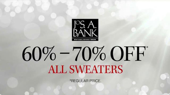 JoS. A. Bank TV Spot, 'Sale on all Sweaters' - Thumbnail 2