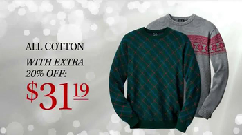 JoS. A. Bank TV Spot, 'Sale on all Sweaters' - Thumbnail 5