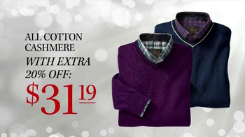 JoS. A. Bank TV Spot, 'Sale on all Sweaters' - Thumbnail 6
