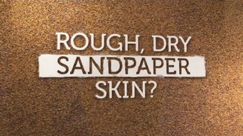 Curel Rough Skin Rescue TV Spot, 'Sandpaper' - Thumbnail 1