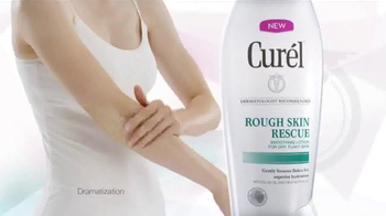 Curel Rough Skin Rescue TV Spot, \'Sandpaper\'