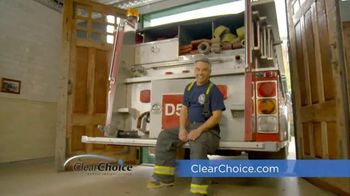 ClearChoice TV Spot, 'Firefighter'
