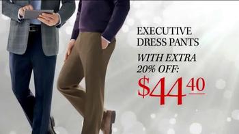 JoS. A. Bank TV Spot, 'Coats, Pant and Scarves' - Thumbnail 4