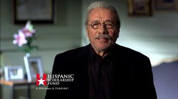 Hispanic Scholarship Fund TV Spot, 'For Forever' Feat. Edward James Olmos - Thumbnail 1