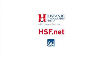Hispanic Scholarship Fund TV Spot, 'For Forever' Feat. Edward James Olmos - Thumbnail 10