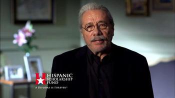 Hispanic Scholarship Fund TV Spot, 'For Forever' Feat. Edward James Olmos - Thumbnail 2