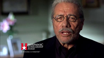 Hispanic Scholarship Fund TV Spot, 'For Forever' Feat. Edward James Olmos - Thumbnail 4