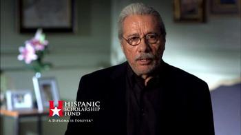 Hispanic Scholarship Fund TV Spot, 'For Forever' Feat. Edward James Olmos - Thumbnail 6