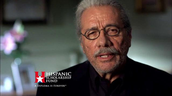 Hispanic Scholarship Fund TV Spot, 'For Forever' Feat. Edward James Olmos - Thumbnail 7