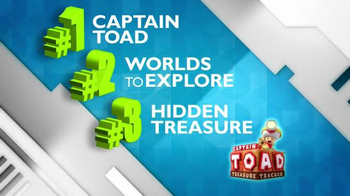 Nintendo Captain Toad: Treasure Tracker TV Spot, 'The Bragg Report' - 60 commercial airings
