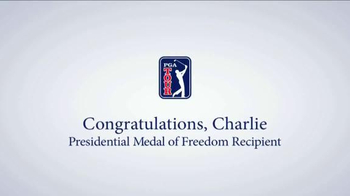 PGA TV Spot, 'Presidential Medal of Freedom Recipient: Charlie' - Thumbnail 10