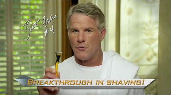 MicroTouch Tough Blade TV Spot Featuring Brett Favre - Thumbnail 1