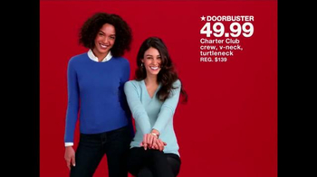 Macy's One Day Sale TV Spot, 'Sweaters and More' - Thumbnail 1