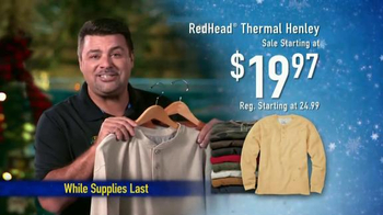 Bass Pro Shops TV Spot, 'Throws, Slippers and Thermal Shirts' - Thumbnail 8