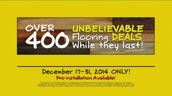 Lumber Liquidators End of Year Clearance Sale TV Spot, 'All Must Go!' - Thumbnail 10