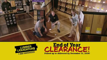 Lumber Liquidators End of Year Clearance Sale TV Spot, 'All Must Go!' - Thumbnail 2