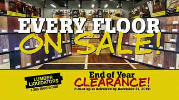 Lumber Liquidators End of Year Clearance Sale TV Spot, 'All Must Go!' - Thumbnail 3