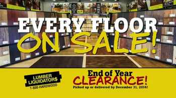 Lumber Liquidators End of Year Clearance Sale TV Spot, 'All Must Go!' - Thumbnail 8
