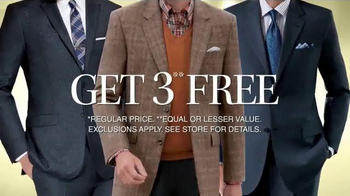 JoS. A. Bank TV Spot, 'Buy One Suit or Sport Coat Get Three Free' - Thumbnail 10