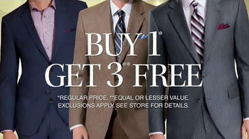 JoS. A. Bank TV Spot, 'Buy One Suit or Sport Coat Get Three Free' - Thumbnail 4