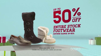 Sears 1 Day Sale TV Spot, 'Outerwear, Footwear, Jewelry' - Thumbnail 7