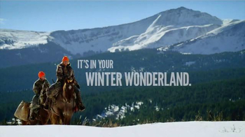Cabela's Christmas Sale TV Spot, 'It's in Your Winter Wonderland' - 316 commercial airings