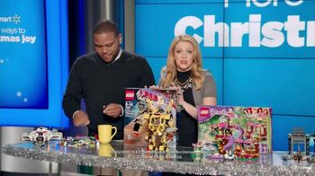 Walmart TV Spot, 'All Things LEGO' Ft. Melissa Joan Hart, Anthony Anderson
