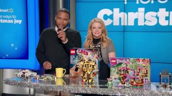 Walmart TV Spot, 'All Things LEGO' Ft. Melissa Joan Hart, Anthony Anderson - Thumbnail 2