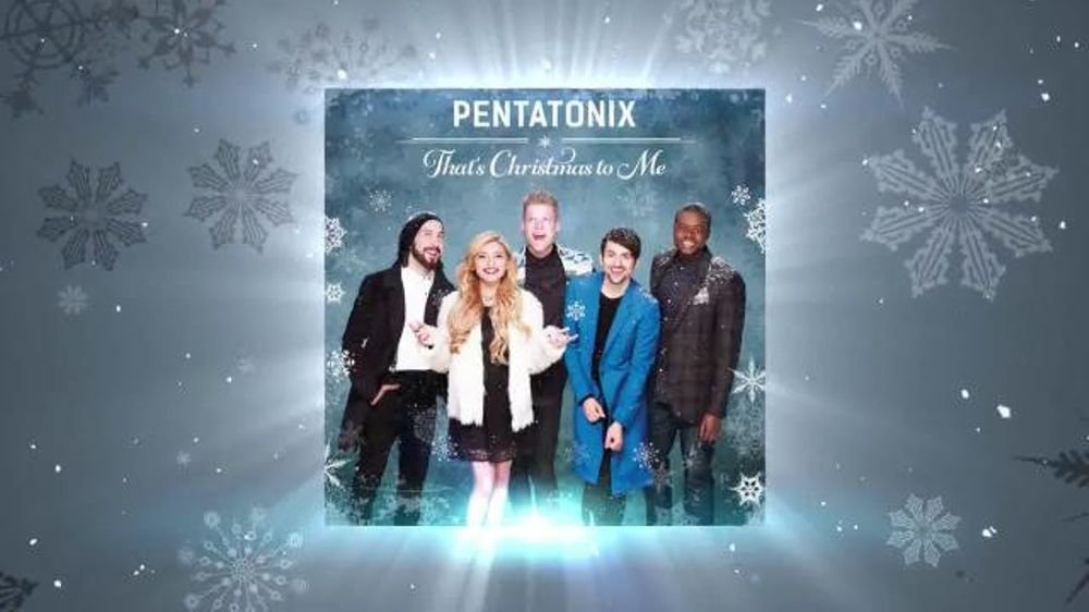 Thats Christmas To Me.Pentatonix That S Christmas To Me Tv Commercial Video