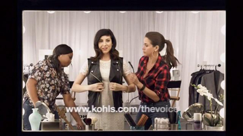 Kohl's TV Spot, 'The Voice Styling Sessions: The Look of Leather' - Thumbnail 8